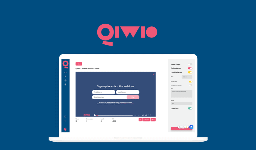 Qiwio video hosting deal
