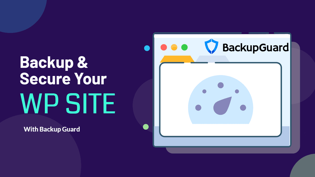 Secure and Backup your wordpress blog with backup guard
