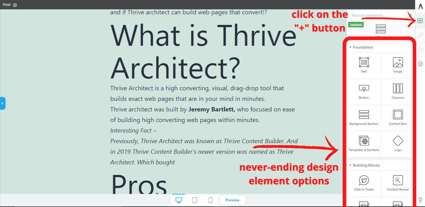 thirve-architect-drag-and-drop-editor